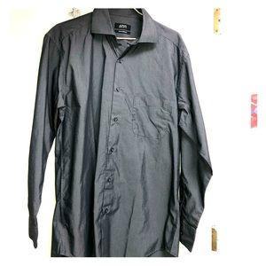 Alfani Long Sleeve Regular Fit Dress Shirt 14.5 32